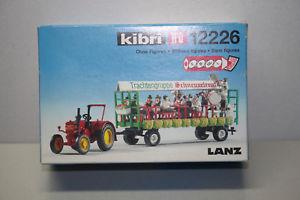 【送料無料】模型車 モデルカー スポーツカー キットターミナルファイルトターkibri 12226 bausatz lanz traktor mit festwagen spur h0 ovp:hokushin