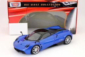 【送料無料】模型車 モデルカー スポーツカー ヒートpagani huayra baujahr 2011 blau 118 motormax