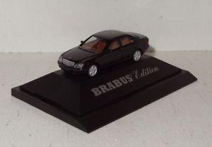【送料無料】模型車 モデルカー スポーツカー クラスherpa mb brabus sklasse 58 w220 nummer 227 187 in pc und ovp r2_5_8
