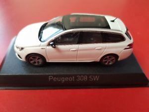 【送料無料】模型車 モデルカー スポーツカー プジョーラインパールホワイト143 norev peugeot 308 sw gt line 2017 perlwei 473818