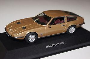 【送料無料】模型車 モデルカー スポーツカー マセラティマセラティインディブラウンメタリックネットワークmaserati indy braun metallic 143 ixo neu amp; ovp clc079