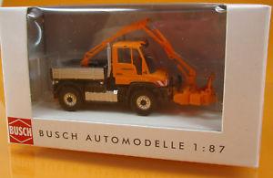 【送料無料】模型車 モデルカー スポーツカー ブッシュメルセデスベンツスケールbusch 50922 mercedes benz unimog u 430 astschere scale 1 87 neu ovp