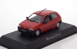 【送料無料】模型車 モデルカー スポーツカー ルノークリオレッドハット143 norev renault clio 1 1990 red