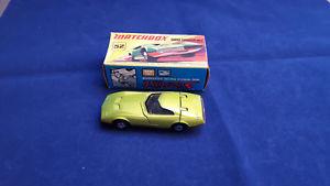 【送料無料】模型車 モデルカー スポーツカー マッチオリジナルmatchbox lesney 52c dodge charger mk3  original boxed vnm