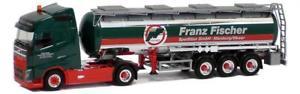 【送料無料】模型車 モデルカー スポーツカー トラックボルボタンクフランツフィッシャーherpa lkw volvo fh4 globaerop tanksz franz fischer