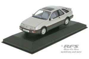 【送料無料】模型車 モデルカー スポーツカー フォードシエラシルバーコーギーネットワークford sierra xr4i baujahr 1983 silber 143 corgi vanguards va 12204