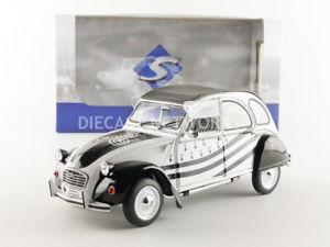 【送料無料】模型車 モデルカー スポーツカー シトロエンsolido 118 citroen 2 cv 6 bzh 1986 1850018