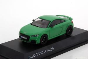 【送料無料】模型車 モデルカー スポーツカー スケールアウディクーペ143 iscale audi tt rs coupe green