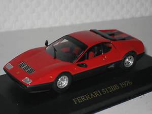【送料無料】模型車 モデルカー スポーツカー フェラーリネットワークferrari 512bb 1976 rot 143 ixo neu amp; ovp fer005