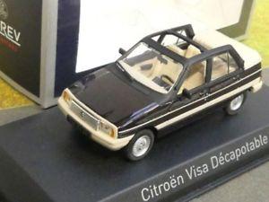 【送料無料】模型車 モデルカー スポーツカー シトロエンビザデカブラウンメタリック143 norev citroen visa decapotable 1984 braunmetallic 150943