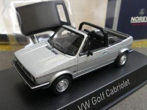 【送料無料】模型車 モデルカー スポーツカー ゴルフカブリオメタリックシルバー143 norev vw golf i cabrio 1981 silbermetallic 840073