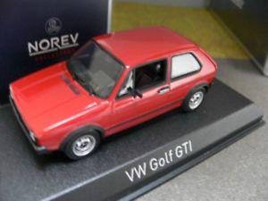 【送料無料】模型車 モデルカー スポーツカー ゴルフレッド143 norev vw golf gti 1976 rot 840046