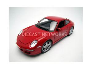 【送料無料】模型車 モデルカー スポーツカー ポルシェカレラmaisto 118 porsche 911 997 carrera s 2006 31692r