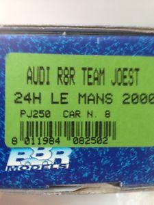 【送料無料】模型車 モデルカー スポーツカー ルマンアウディキットle mans winner audi r8r bbr kit 2000