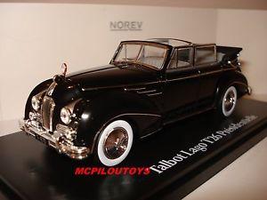 【送料無料】模型車 モデルカー スポーツカー プレビンセントnorev talbot lago t26 presidentielle vincent auriol 1950 au 143