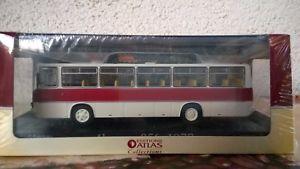 【送料無料】模型車 モデルカー スポーツカー バスモデルカーアトラスikarus bus 256 1977 modellauto 172 atlas verlag mit ovp