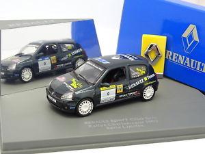 【送料無料】模型車 モデルカー スポーツカー ルノークリオスポーツシャルルマーニュラリーuh 143 renault clio sport gr n rallye charlemagne 2002
