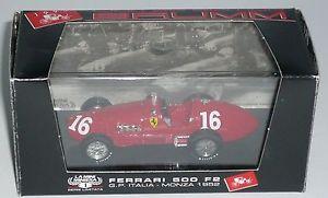 【送料無料】模型車 モデルカー スポーツカー イタリアフェラーリグランプリモンツァハムferrari 500 f2 gp italia monza 3 ass villoresi n 16 limited edition brumm 143