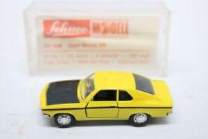 【送料無料】模型車 モデルカー スポーツカー モデルオペルマンタschuco modell opel manta sr 301 849