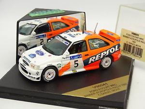 【送料無料】模型車 モデルカー スポーツカー スキッドフォードエスコートラリーレプソルサインツvitesse skid 143 ford escort wrc repsol winner acropolis rally 1997 sainz