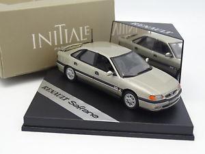 【送料無料】模型車 モデルカー スポーツカー ベージュメタルvitesse 143 renault safrane initiale beige mtal