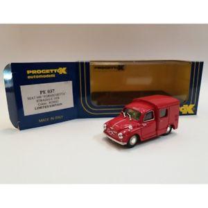 【送料無料】模型車 モデルカー スポーツカー シートスカラprogetto k pe 037 seat 600 formichetta stradale 1958 scala 143