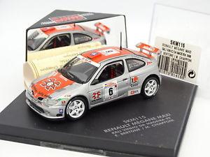 【送料無料】模型車 モデルカー スポーツカー スキッドルノーメガーヌマキシラリーマデイラskid vitesse 143 renault megane maxi rallye vinho madeira 1999
