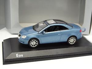 【送料無料】模型車 モデルカー スポーツカー フォルクスワーゲンnorev 143 vw eos bleue