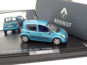 【送料無料】模型車 モデルカー スポーツカー ルノーモデュスターコイズnorev 143 renault modus dci turquoise