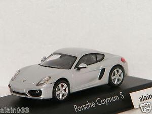 【送料無料】模型車 モデルカー スポーツカー ポルシェケイマンporsche cayman s 2013 silver norev 143 ref 750036