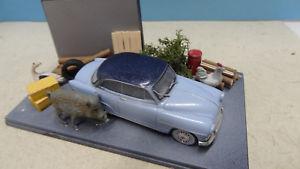 【送料無料】模型車 モデルカー スポーツカー デグランジsimlca aronde sortie de grange 143