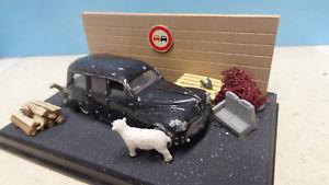 【送料無料】模型車 モデルカー スポーツカー プジョーデグランジpeugeot 203 commerciale sortie de grange 143