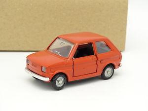 【送料無料】模型車 モデルカー スポーツカー フィアットオレンジmebetoys 143 fiat 126 orange