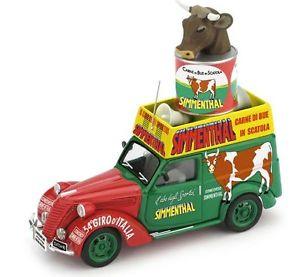 【送料無料】模型車 モデルカー スポーツカー フィアットカロヴァナジャイロカルネハムfiat 1100 furgone carovana 34 giro ditalia carne simmenthal 143 2011 brumm