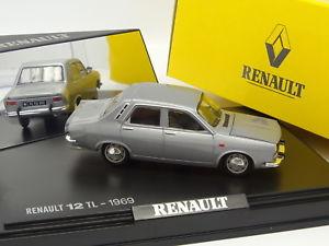 【送料無料】模型車 モデルカー スポーツカー norev 143 renault 12 tl grise 1969