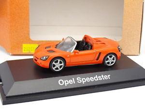 【送料無料】模型車 モデルカー スポーツカー オペルスピードオレンジschuco 143 opel speedster orange