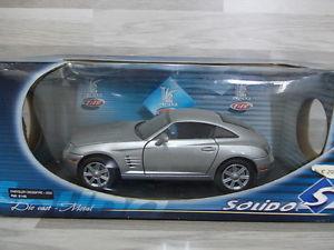 【送料無料】模型車 モデルカー スポーツカー クライスラークロスファイアsolido 118 chrysler crossfire 2002    sonderpr