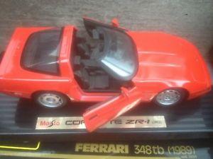 【送料無料】模型車 モデルカー スポーツカー コルベットメタルパーツmaisto corvette zr1 red 1992 ref 52113 118 metal modelcar opening parts