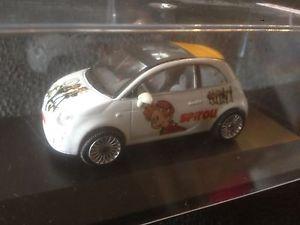 【送料無料】模型車 モデルカー スポーツカー フィアットコミックストリップスケールfiat 500 spirou bd comics strip 143 scale modelcar