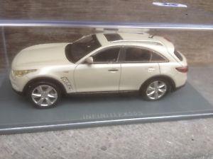 【送料無料】模型車 モデルカー スポーツカー ネオインフィニティスケールneo infinity fx50s white 2010 143 scale resin modelcar