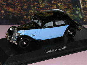 【送料無料】模型車 モデルカー スポーツカー シトロエンアルcitroen 11 al 1943 143 norev