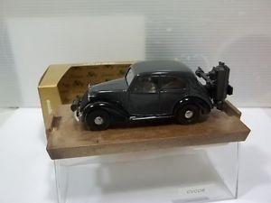 【送料無料】模型車 モデルカー スポーツカー フィアットbrumm sc143 fiat 508c berlina 1100 gasogeno