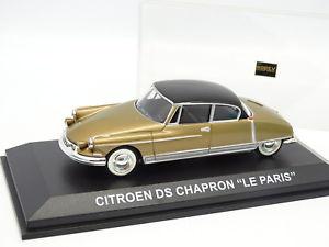 【送料無料】模型車 モデルカー スポーツカー シトロエンルパリnorev cec 143 citroen ds le paris chapron or