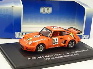【送料無料】模型車 モデルカー スポーツカー ユニバーサルポルシェイェーガーマイスターニュルブルクリンクuh universal hobbies 143 porsche 934 rsr jagermeister n54 nurburgring 1975