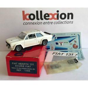 【送料無料】模型車 モデルカー スポーツカー フィアットアバルトトップポルトガルラリーrare top 43 solido 1704 fiat abarth 131 n5 rallye portugal 1981 143 nb