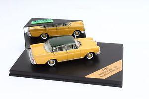 【送料無料】模型車 モデルカー スポーツカー メイズイエローvitesse mb 220 se 1959 maisgelb 143