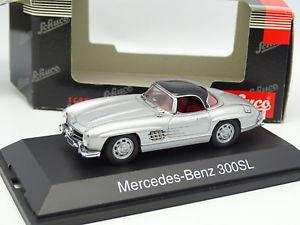 【送料無料】模型車 モデルカー スポーツカー メルセデスハードトップシュルschuco 143 mercedes 300 sl hard top grise