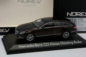 【送料無料】模型車 モデルカー スポーツカー メルセデスブレーキマロンnorev 143 mercedes cls shooting brake marron