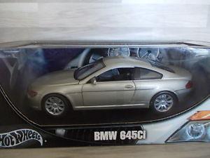 【送料無料】模型車 モデルカー スポーツカー ホットホイールhot wheels 118 bmw 645ci
