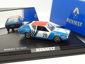【送料無料】模型車 モデルカー スポーツカー ルノーモンテカルロラリーnorev 143 renault 17 rallye monte carlo 1975